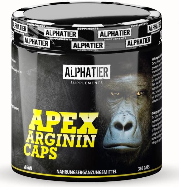 Apex Arginin - L-Arginin Base Kapseln