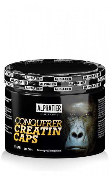 Conquerer Creatin-Monohydrat (Creapure®) Caps
