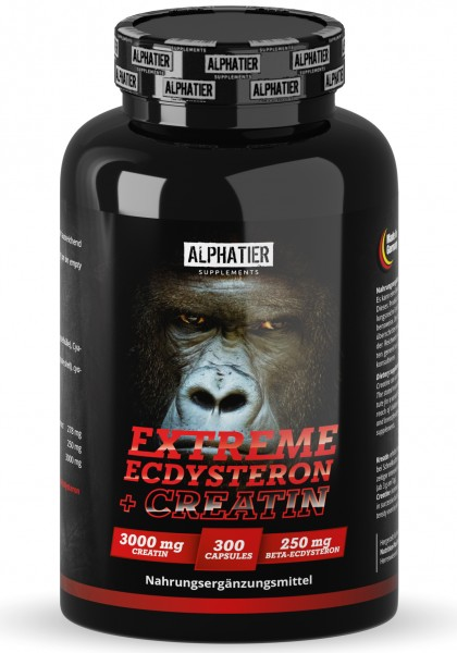 Extreme Ecdysteron + Creatin - Alphatier Supplements