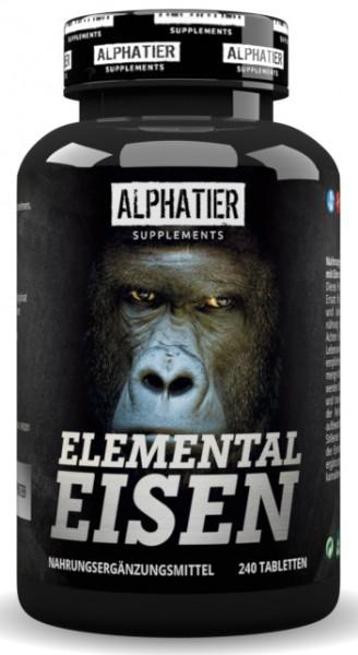 Elemental Eisen - hochdosierte Tabletten