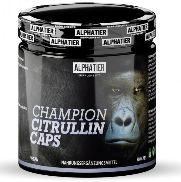 Alphatier L-Citrullin Champion 360 Kapseln